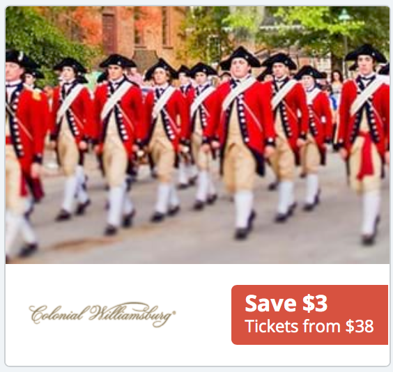Find Great Prices on Tickets to Colonial Williamsburg